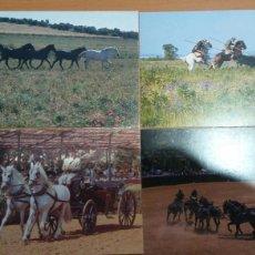 Postales: SERIE DE 8 POSTALES EL CABALLO EN ANDALUCÍA. Lote 87464784