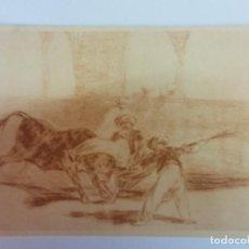 Cartes Postales: BJS. BONITA POSTAS. TOROS. TAUROMAQUIA. GOYA. EDICION HAUSER Y MENET. SIN USO.MADRID. Lote 136713982