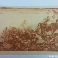 Cartes Postales: BJS. BONITA POSTAS. TOROS. TAUROMAQUIA. GOYA. EDICION HAUSER Y MENET. SIN USO.MADRID. Lote 136714062