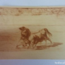 Cartes Postales: BJS. BONITA POSTAL. TOROS. TAUROMAQUIA. GOYA. EDICION HAUSER Y MENET. SIN USO.MADRIDLE. Lote 136714166