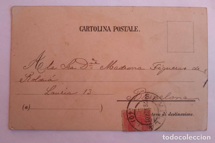 Postales: postal pájaros circulada - Foto 2 - 139215510