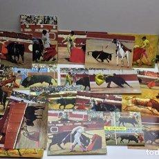 Postales: LOTE DE MÁS DE 30 POSTALES TAURINAS - TOROS - SIN CIRCULAR. Lote 142582138