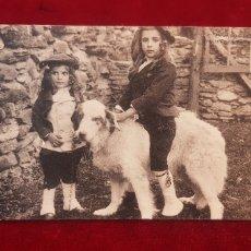 Postales: ANTIGUA POSTAL PIRINEOS CARTE POSTALE ANCIENNE LES PYRENEES JEUNES OSSALOIS FRANCE. Lote 143646189