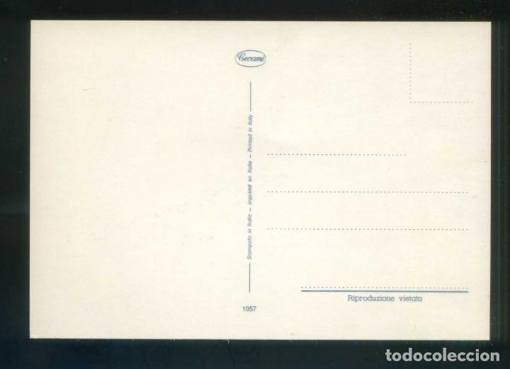 Postales: Gato y Peces. Ed. Cecami nº 1057. Fabricación italiana. Al dorso *Kodak Ekthachrome* Nueva. - Foto 2 - 145887406