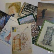 Postales: 8 POSTALES PLUBLICIDAD VARIOS. Lote 154198858