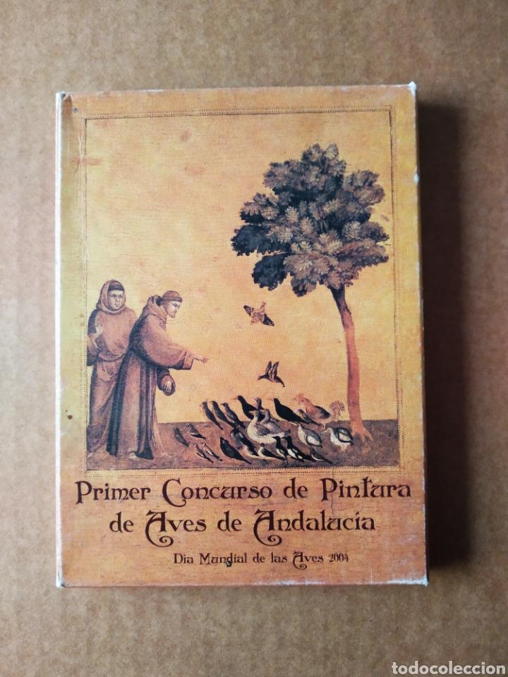 PRIMER CONCURSO DE PINTURA DE AVES DE ANDALUCÍA / DÍA MUNDIAL DE LAS AVES 2004. 18 POSTALES (Postales - Postales Temáticas - Animales)