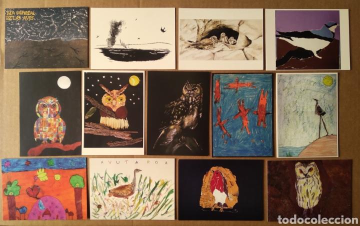 Postales: Primer Concurso de Pintura de Aves de Andalucía / Día Mundial de las Aves 2004. 18 postales - Foto 2 - 157911917