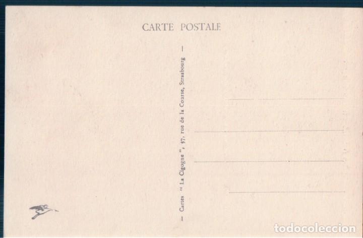 Postales: POSTAL ALSACE - NID DE CIGOGNES 852 A - LA CIGOGNE - NIDO DE CIGUEÑAS - Foto 2 - 167780148