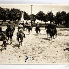 Postales: POSTAL - JINETES Y MILITARES - RALLY - SIN CIRCULAR - 1923.. Lote 172749304