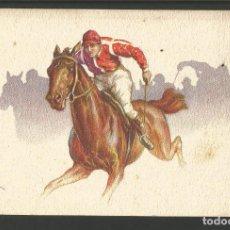 Postales: CARRERA DE CABALLOS-POSTAL ANTIGUA-(62.013). Lote 175704679