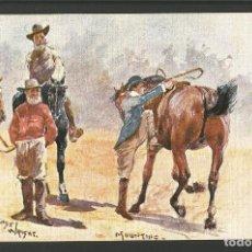 Postales: CABALLOS-POSTAL ANTIGUA-(62.017). Lote 175704887
