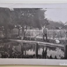 Postales: SOLDADO, PERRO Y ESTANQUE. POSTAL FRANCESA. NUEVA. BLANCO/NEGRO. Lote 176049284