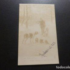 Postales: PERROS DE CAZA POSTAL. Lote 178239778