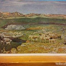 Postales: G. SEGANTINI. HOCHALPE. THE HIGH ALP. NUEVA. Lote 178682697