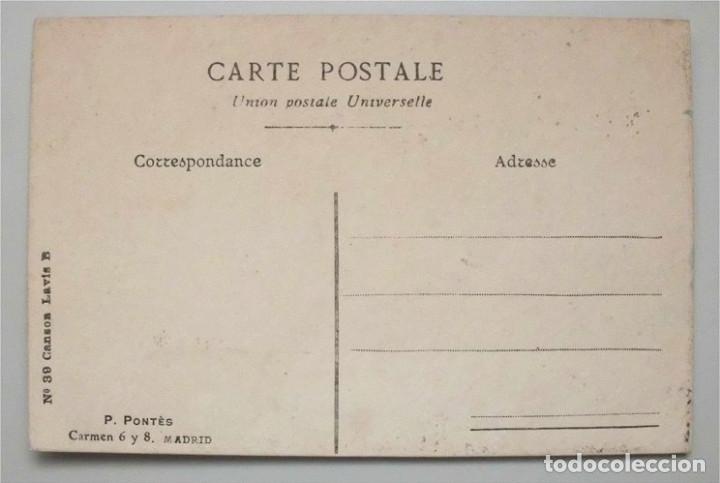Postales: Antigua tarjeta postal animales – pájaros. Nº 39 Canson Lavis B (Principios siglo XX) - Foto 2 - 181394680