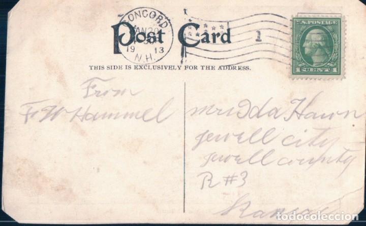 Postales: POSTAL CABALLO ALIMENTANDOSE DE YEGUA - MEALS AT ALL HOURS - COMER A TODAS HORAS - Foto 2 - 182965270
