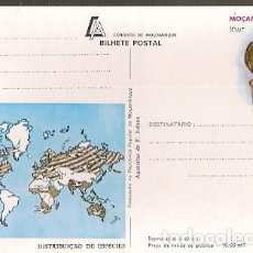 Postales: MOZAMBIQUE ** & I.P ACUARELA DE F. JOFANE, FALCON, FALCO PEREGRINUS 1983 (7994). Lote 183613423