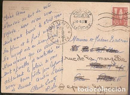 Postales: Noruega & Circulado, Reno, Nordkapp a Épinac 1967 (3539) - Foto 2 - 183618825