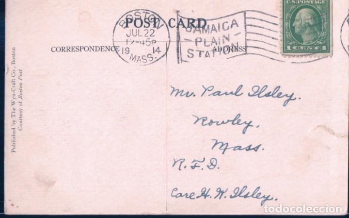 Postales: POSTAL ELEFANTE - ELEPHANT - BOSTON - PUBLISHED BY THE WYN-CRAFT CO - CIRCULADA - Foto 2 - 184200656
