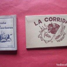 Postales: LA CORRIDA.-FIESTA DE LOS TOROS.-EDIT I.B.A.-BARCELONA.-BLOC DE POSTALES.-LOTE DE 25 POSTALES.. Lote 184864036