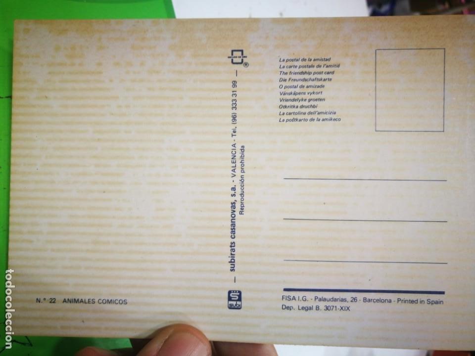 Postales: Postal Animales Cómicos N 22 SUBIRATS CASANOVAS - Foto 2 - 189284190