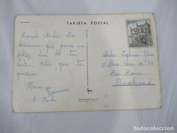 Postales: Postal perro Circulada - Foto 2 - 190355792
