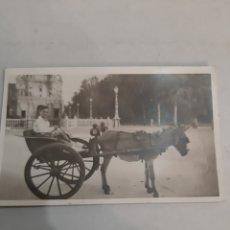 Postales: PORTUGAL BURRO CON CARRO. Lote 194394333