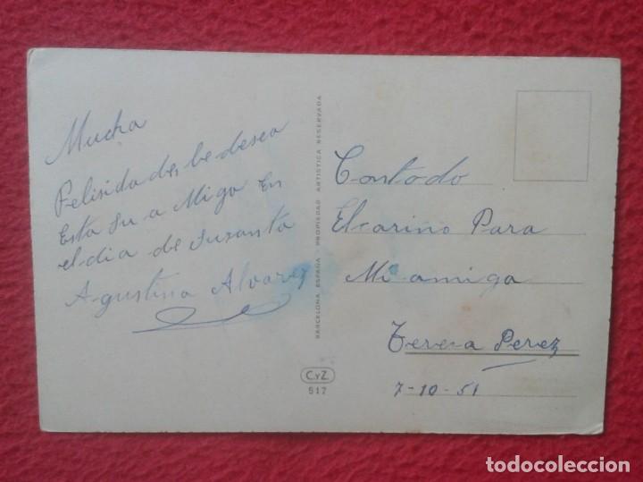 Postales: ANTIGUA POSTAL POST CARD FELICITACIÓN FELICIDADES GATO Y MARIPOSAS CON FLORES C. Y Z. CAT BUTTERFLY - Foto 2 - 194498600