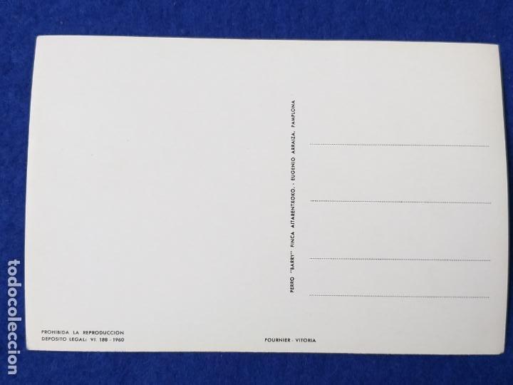 Postales: POSTAL - LA ORACIÓN DEL PERRO. FOURNIER. VITORIA. AÑO 1960 - Foto 2 - 204278311