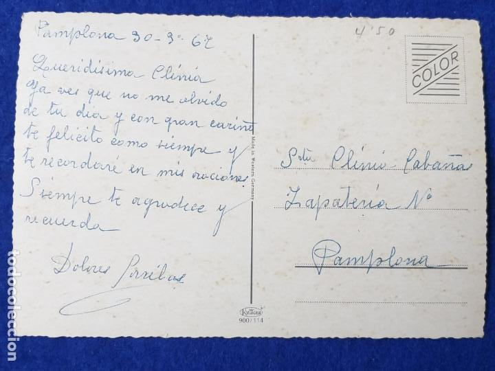 Postales: FOTO POSTAL TRES PERROS COLLIE. ESCRITA - Foto 2 - 204411511