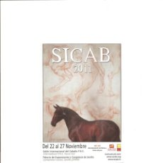 Postales: 2170. SICAB 2011. Lote 206155807