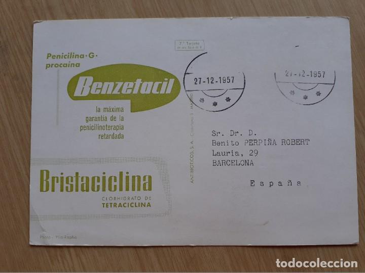 Postales: TARJETA POSTAL - CALIFORNIA SEA LION - PUBLICIDAD DE MEDICAMENTOS - Foto 2 - 206323457