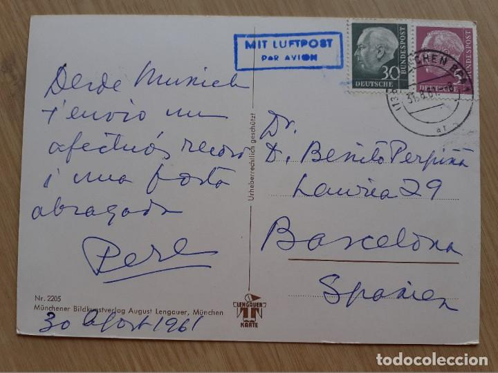 Postales: TARJETA POSTAL - PERRO BOXER - Foto 2 - 206323912