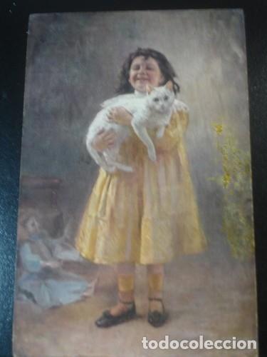 PIMONENKO POLISSONNE N19 - PORTAL DEL COL·LECCIONISTA (Postales - Postales Temáticas - Animales)