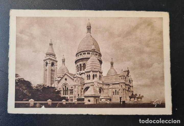 POSTAL DE PARIS VISTA Nº48 - SACRE COEUR - EDITIONS D'ART - GUY - PARIS (Postales - Postales Temáticas - Animales)