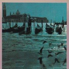 Postales: ITALIA. VENEZIA. *MOLO DI S. MARCO...* NUEVA.. Lote 221928435