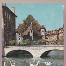 Postales: FRANCIA. 74-ANNECY. *LE CANAL DU THIOU...* CIRCULADA 1979.. Lote 221930213
