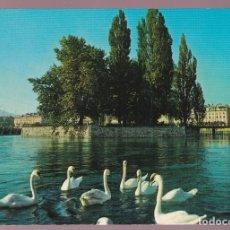 Postales: SUIZA. GENÈVE. *L´ÎLE J.-J. ROUSSEAU* NUEVA.. Lote 221934410