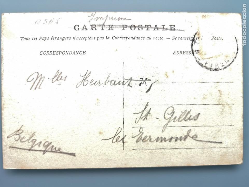 Postales: RARISIMA POSTAL FRANCE DANS LES PYRENEEES MONTREURS D´OURS OSO DOMESTICADO PIRINEOS - Foto 2 - 222317598