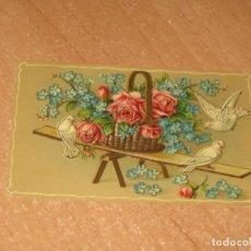 Postales: POSTAL DE PALOMAS REVOLOTEANDO. Lote 222909026