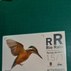 Postales: FAINA RÍO RATO LUGO PICAPEIXE ACTIVIDADES 2015 LIBRERIA O ALMACÉN DO COLISEVM. Lote 228153925