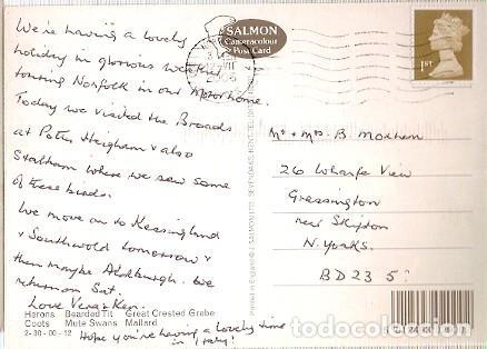 Postales: Gran Bretana & Circulado, Aves de Broadland, Norwich a Skipton 2006 (6876) - Foto 2 - 243070935