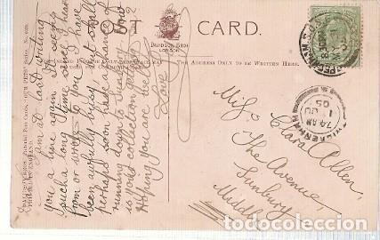 Postales: Gran Bretana & Circulado, Nuestras mascotas, Davidson Bros, Wingham to Sunbury 1905 (6055) - Foto 2 - 243100200