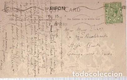Postales: Gran Bretana & Circulado, Gatos, Ripon 1915 (6055) - Foto 2 - 243100285