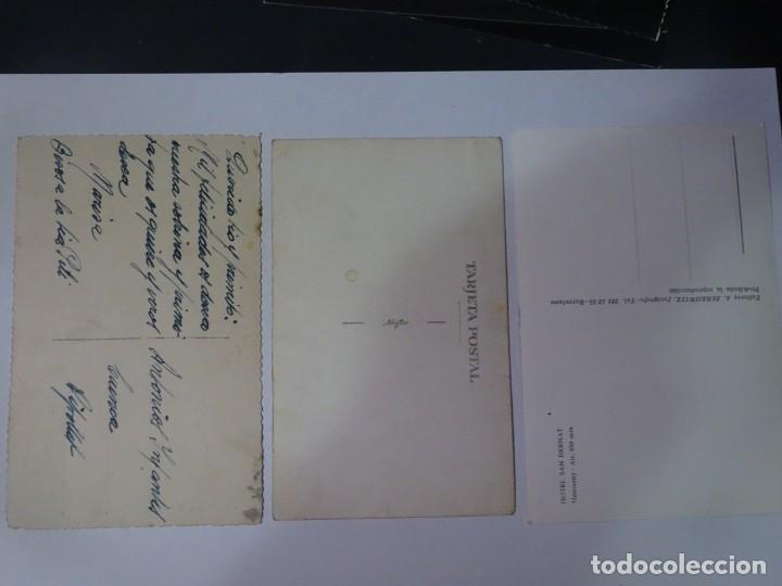 Postales: LOTE DE 3 ANTIGUAS POSTALES CPSM, PERROS, VER FOTOS - Foto 6 - 243627775