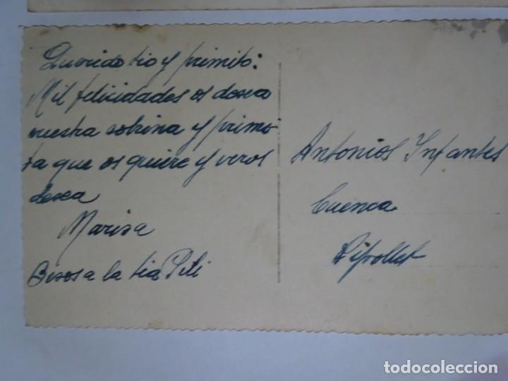 Postales: LOTE DE 3 ANTIGUAS POSTALES CPSM, PERROS, VER FOTOS - Foto 7 - 243627775
