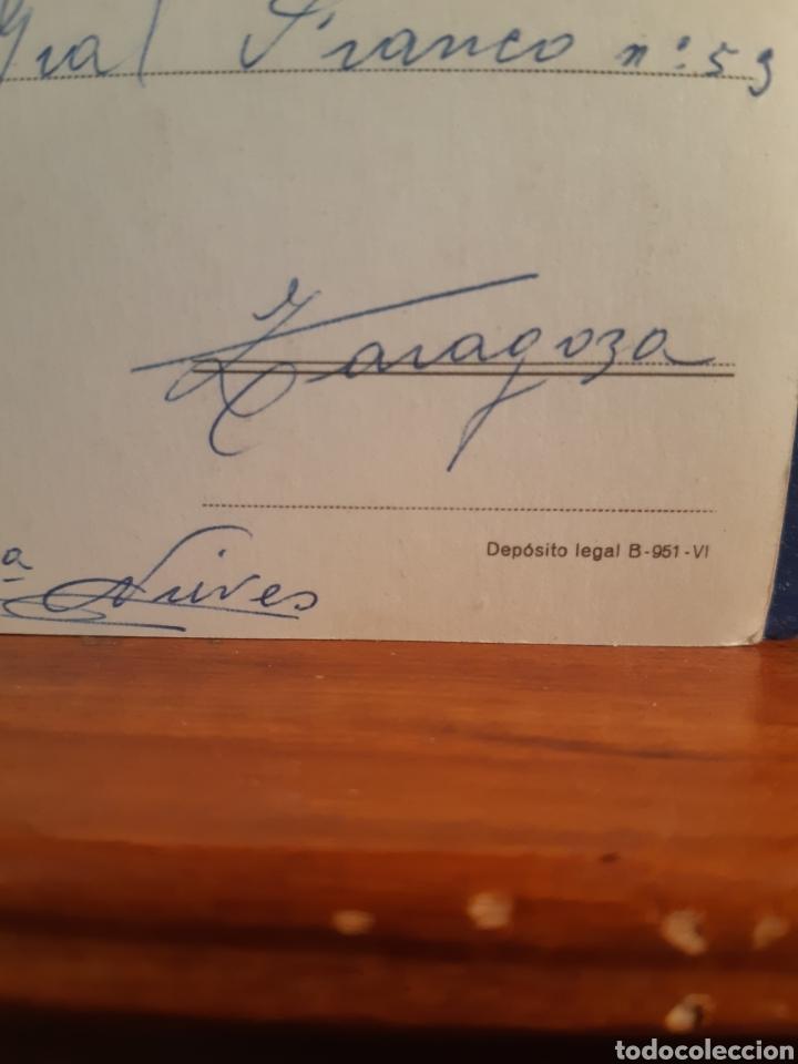 Postales: Antigua postal de pájaros años 60 - Foto 2 - 244580895
