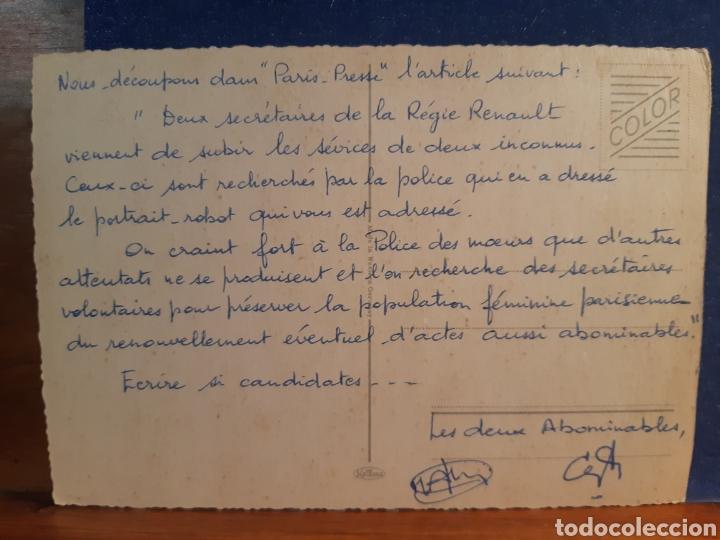 Postales: Antigua postal de un. Mono - Foto 2 - 244581195