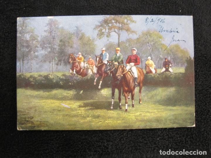 Postales: CABALLOS-COLECCION DE 5 POSTALES ANTIGUAS-VER FOTOS-(77.800) - Foto 9 - 244588900