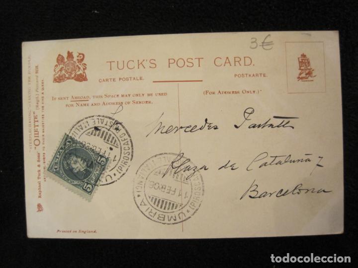Postales: CABALLOS-COLECCION DE 5 POSTALES ANTIGUAS-VER FOTOS-(77.800) - Foto 12 - 244588900